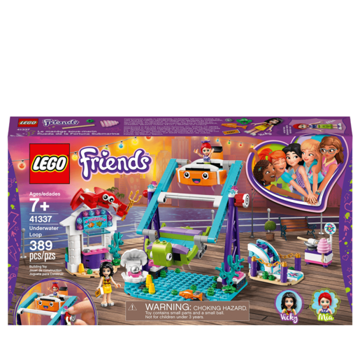 Lego Friends Noria Submarina