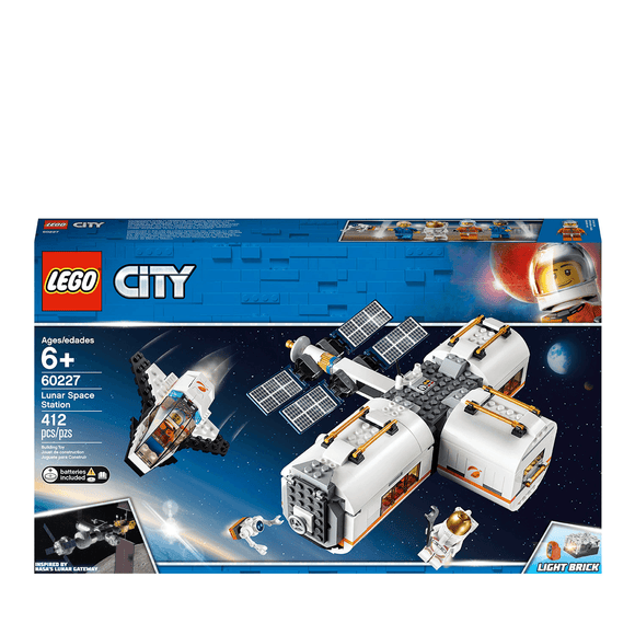 Lego City Estación Espacial Lunar