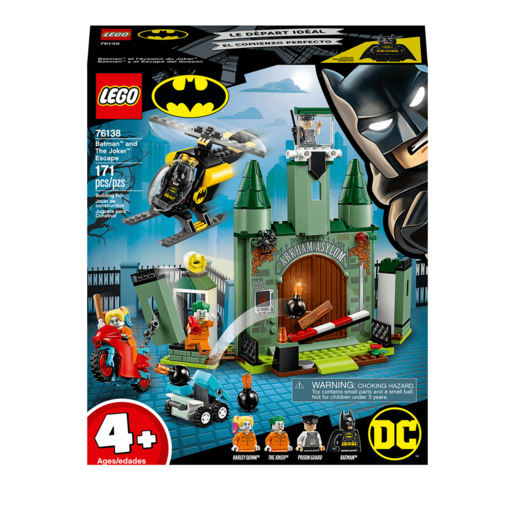 Lego Dc Batman Joker Escape