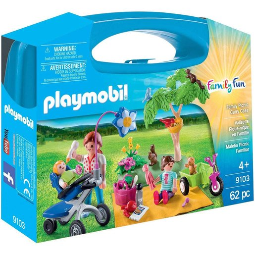 Playmobil Maletín Grande Pícnic Familiar