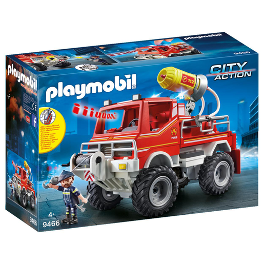 Playmobil City Action Todoterreno Bomberos