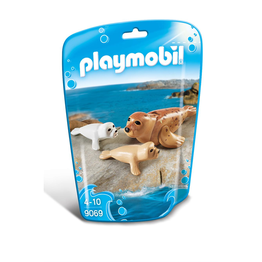 Playmobil Summer Fun Foca Con Bebés