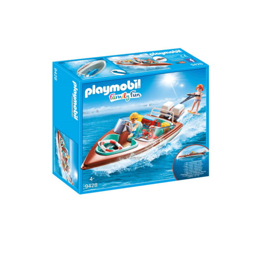 Playmobil Family Fun Lancha Motor