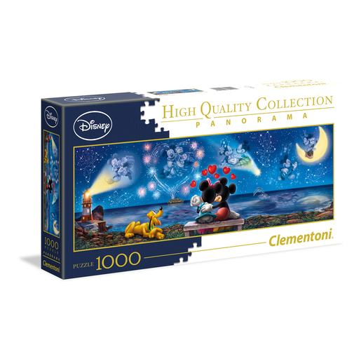 Puzle Panorama Disney Mickey & Minnie 1000 Piezas