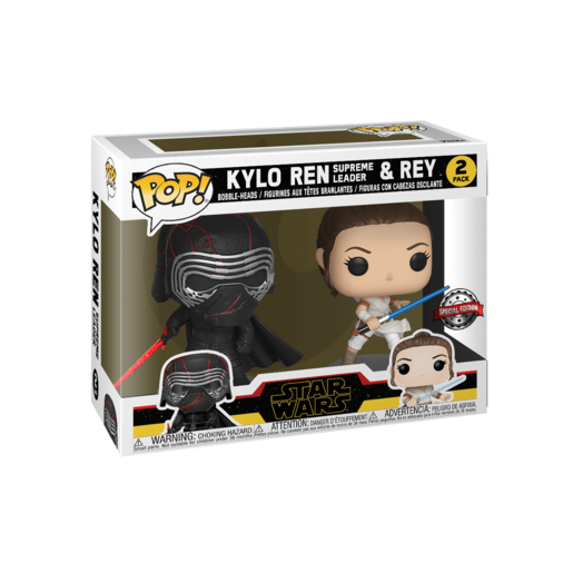 Funko Pop Star Wars Kylo Ren Y Rey Special Edition