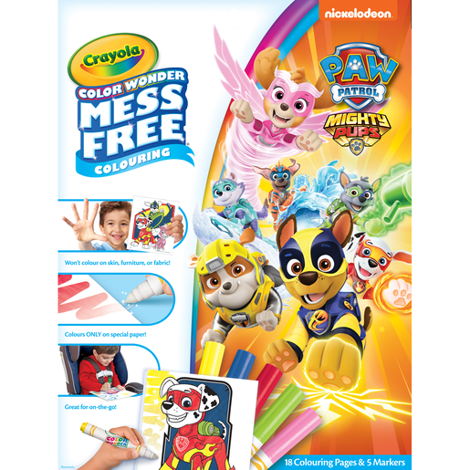 Crayola Color Wonder Patrulla Canina