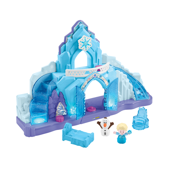 Fisher Price Little People Disney Frozen Palacio de Hielo de Elsa
