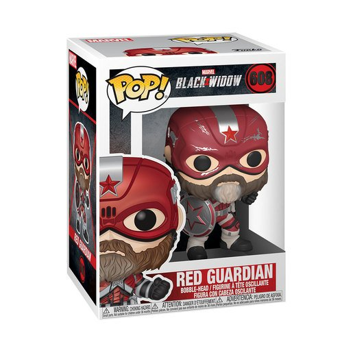 Funko Pop Marvel Viuda Negra - Red Guardian