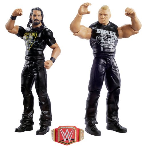 Wwe Wrestlemania Pack De 2 Figuras