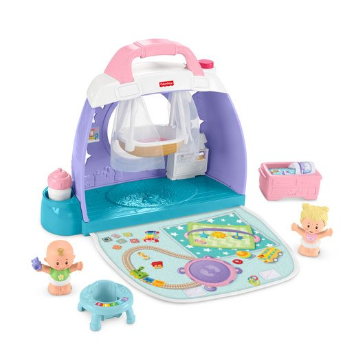 Fisher-Price Little People Maletín Guardería