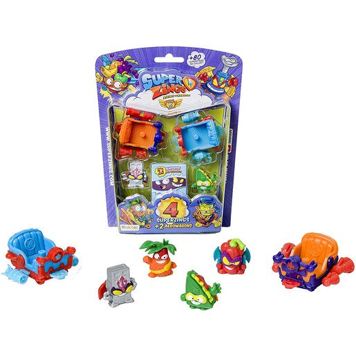Superzings Serie 5 Blister 4 Figuras Aerowagon