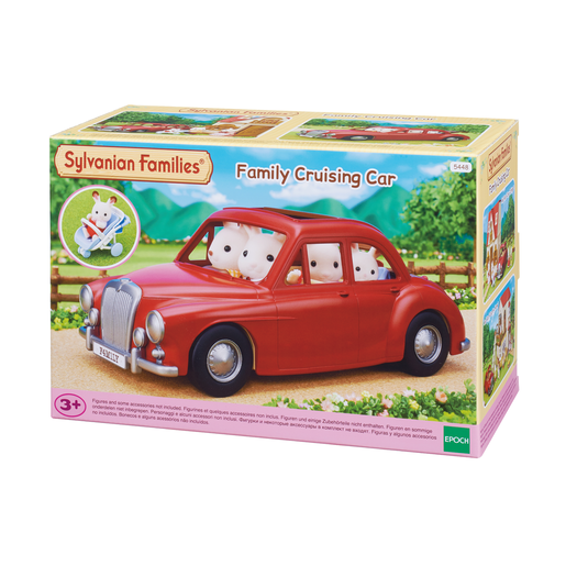 Sylvanian Families Coche Familiar Descapotable
