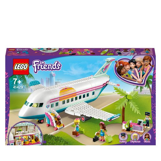 Lego Friends Avion De Heartlake