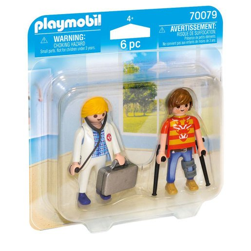 Playmobil Doctor Patient Duo