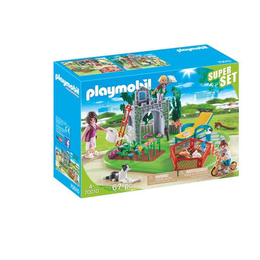 Playmobil Family Garden