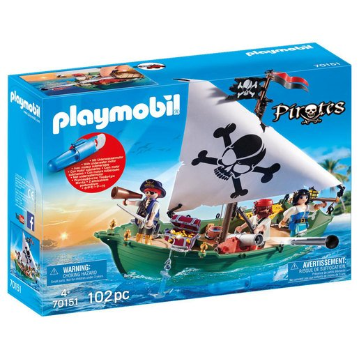 Playmobil Pirate Ship Motor