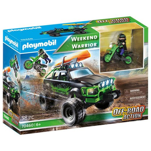 Playmobil Wknd Warrior Excl