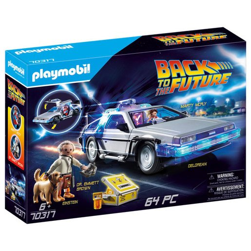 Playmobil Bttf Delorean