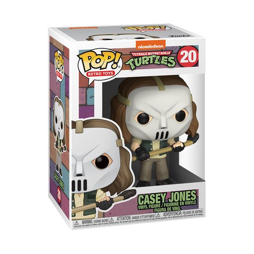 Funko Pop! Vinyl: Tortugas Ninja - Casey Jones