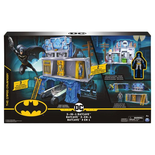 Dc Batman Set Batcueva 3 En 1