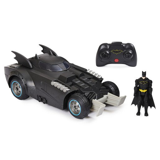 Dc Batman Batmóvil Dispara Y Defiende Rc