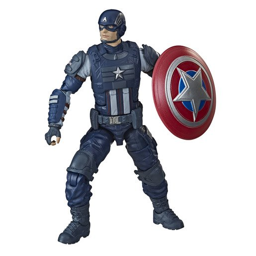 Marvel Legends Avergers Gamer Verse Figura Capitán América 15 Cm