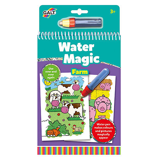 Cuaderno De Pintura Water Magic Granja