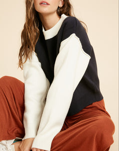 Fynley Colorblock Sweater