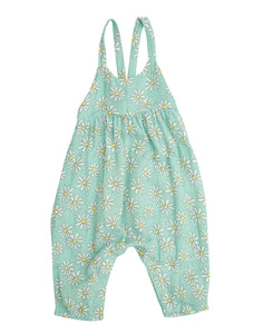 Flower Power Tie Back Romper