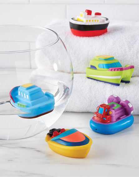 Boat Bath Toy Set