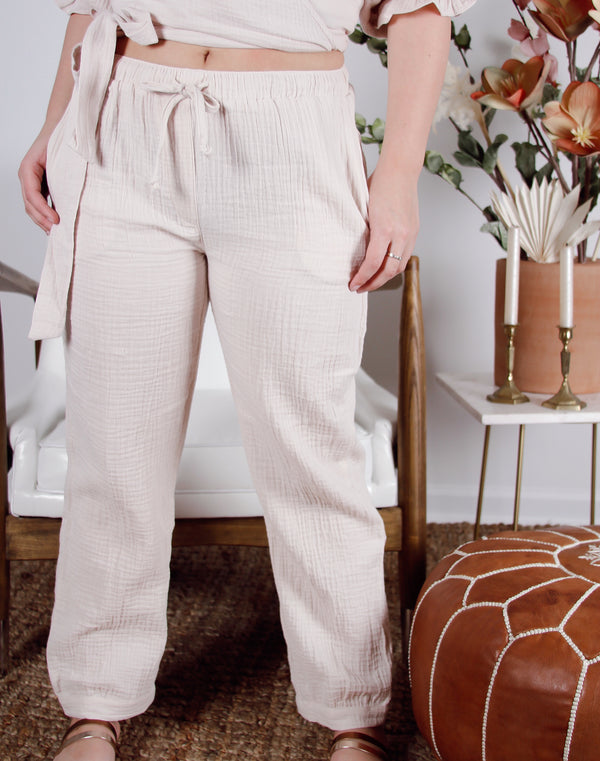 Beau Drawstring Pants