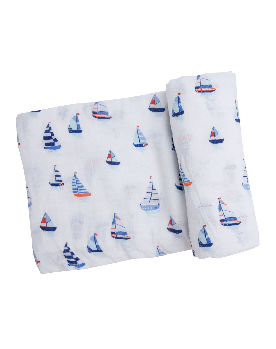 Nautical Boats Swaddle Blanket