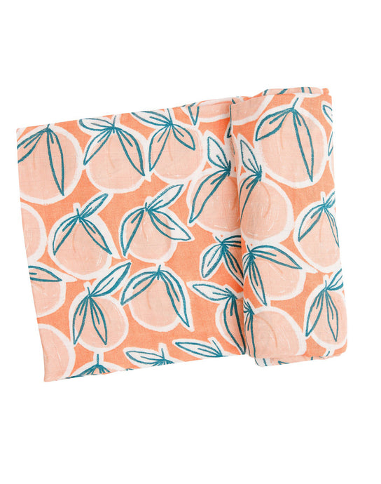 Peachy Swaddle Blanket