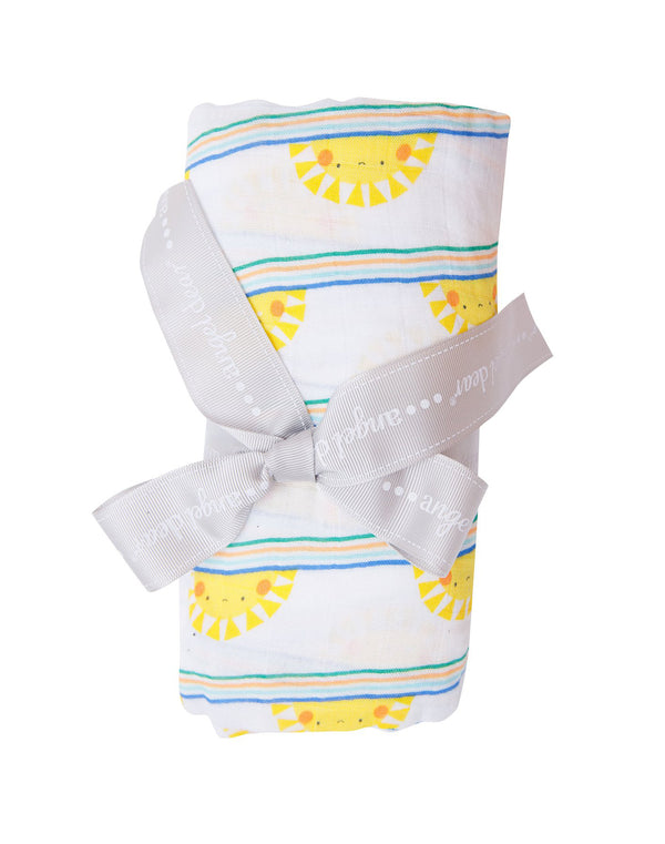 Sun Stripe Swaddle Blanket