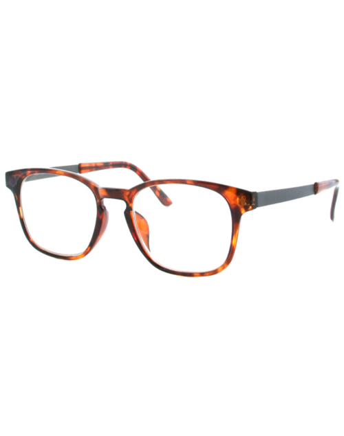 Blue Light Square Frames - Dark Tortoise