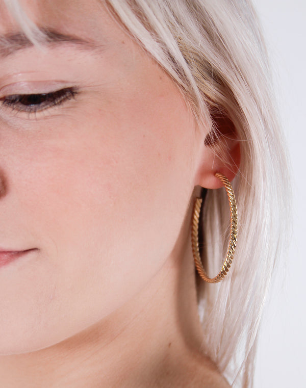 Twisted Thin Hoops