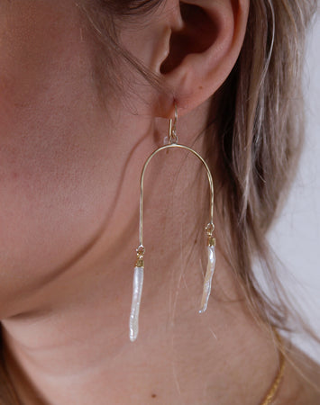 Tahiti Earrings- 14K Gold Filled