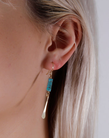 Talulah Earrings- 14K Gold Vermeil
