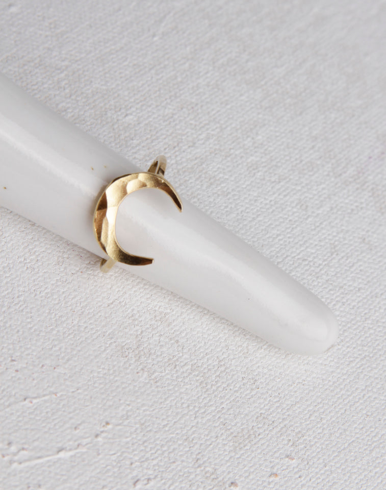 Neptune Ring- 14K Gold Vermeil