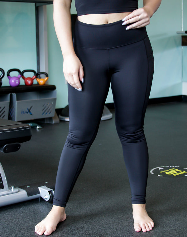 Essential Highwaist Panel Leggings