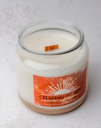 Chasing The Sun ish Candle