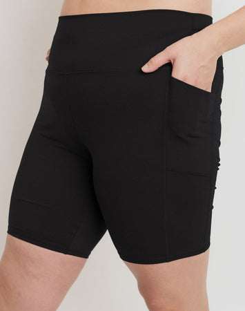 Bermuda Biker Short With Pocket