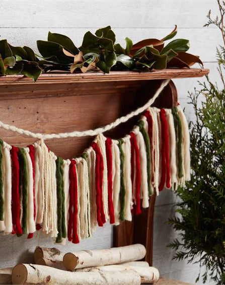 Wool Yarn Garland