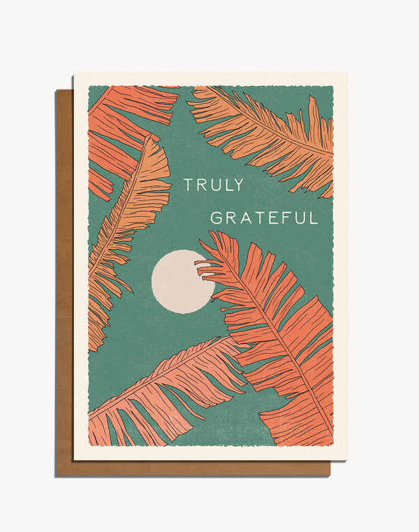 Truly Grateful Card