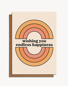 Wishing You Endless Happiness Card