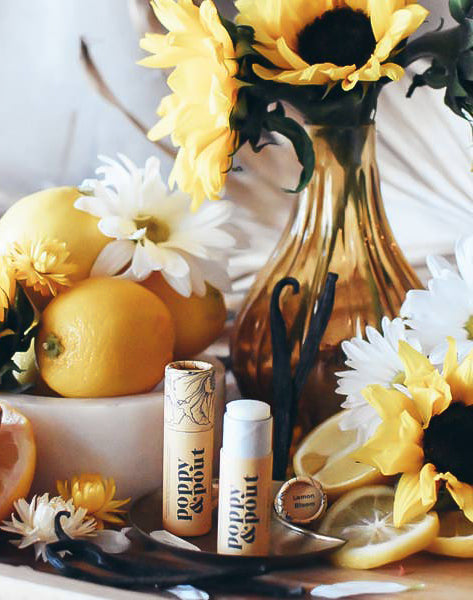 Lemon Bloom Lip Balm