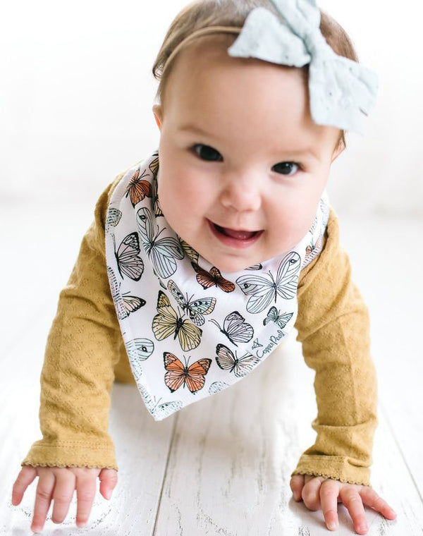 Dot Baby Bandana Bib Set