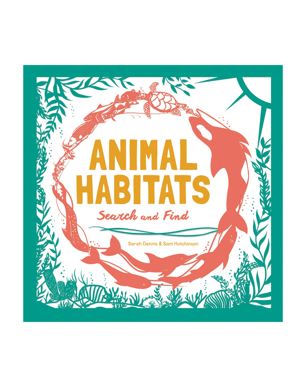 Animal Habitats Activity  Book