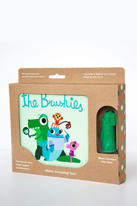Chomps The Dino & Brushies Book
