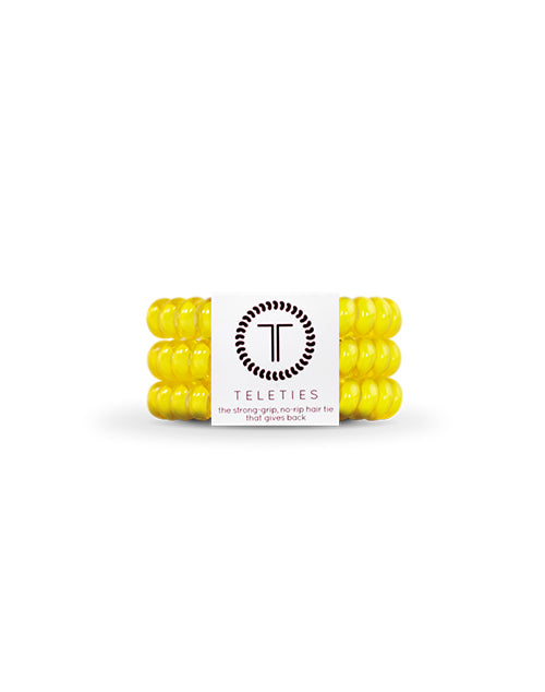 Teleties 3 Pack Small - Lemon